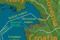 Mapa: Chorvatsko-Slovinsko