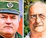 Porovnání: generál Ratko Mladić a chycený Belgičan