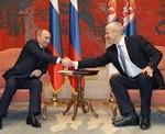 Putin, Tadić