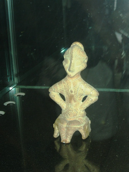 Statue from Prishtina museum – it was discovered during archaeological excavations near the capital and became the symbol of the International seminar of the Albanian language, literature and culture.
