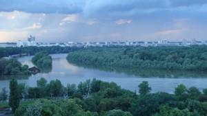Ústí Sávy a Dunaje